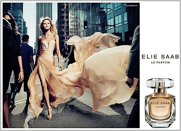 Anja Rubik for Elie Saab Le Parfum