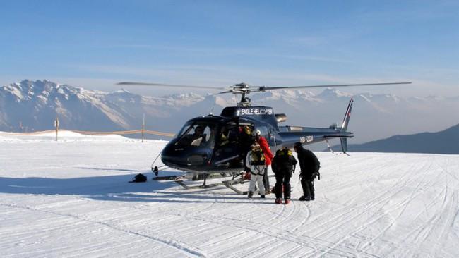 Heliski Safari to Zermatt and Chamonix