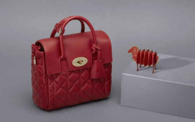 Mulberry Limited Edition Cara Delevingne handbag for Chinese New Year