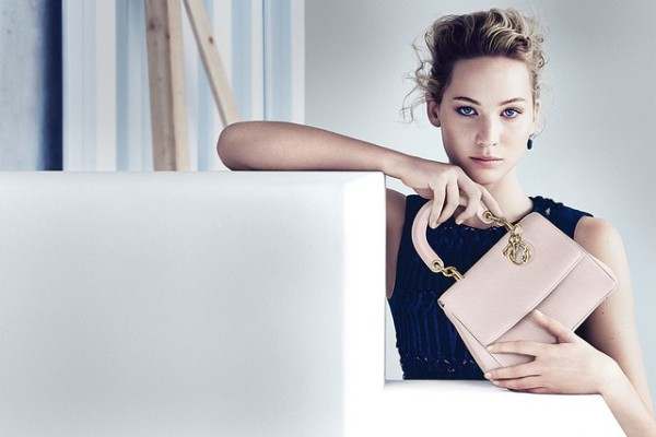 Be Dior Spring 2015 Handbag Ad Campaign with Jennifer Lawrence pic 01
