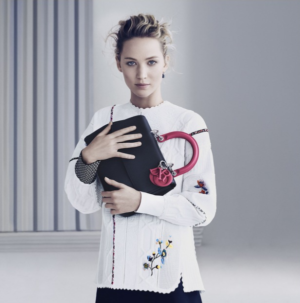 Be Dior Spring 2015 Handbag Ad Campaign with Jennifer Lawrence pic 02