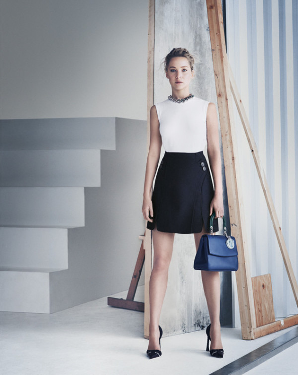 Be Dior Spring 2015 Handbag Ad Campaign with Jennifer Lawrence pic 03