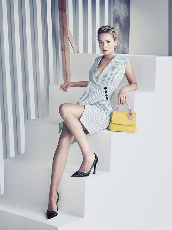 Be Dior Spring 2015 Handbag Ad Campaign with Jennifer Lawrence pic 04