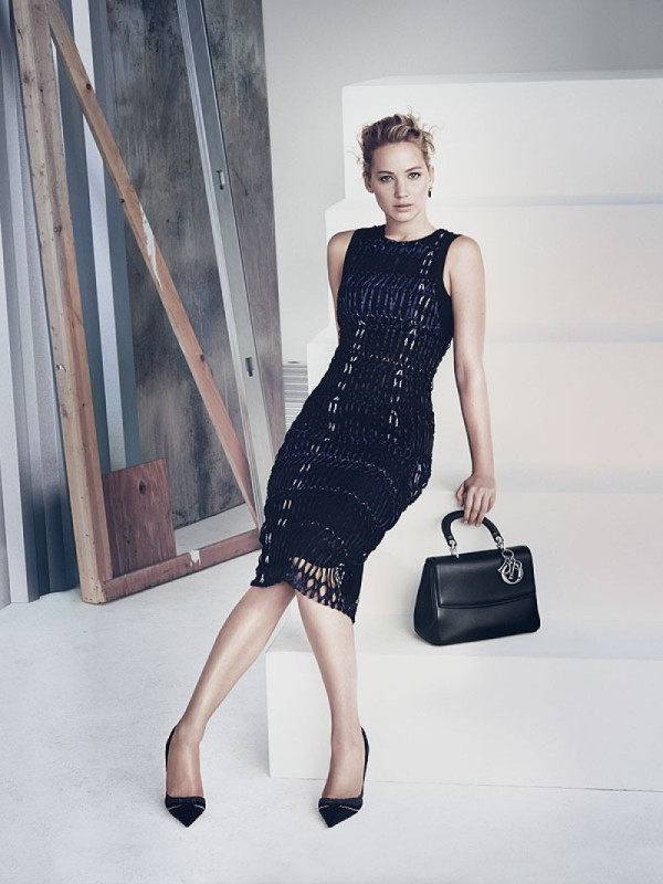 Be Dior Spring 2015 Handbag Ad Campaign with Jennifer Lawrence pic 05