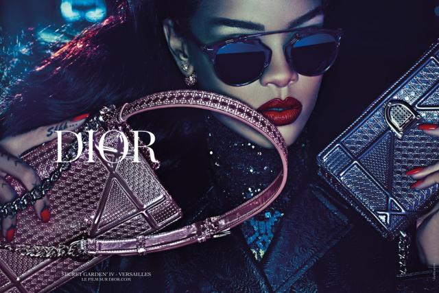 Dior Rihanna Secret Garden Ad Campaign 01