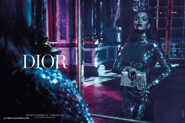 Dior Rihanna Secret Garden Ad Campaign 02