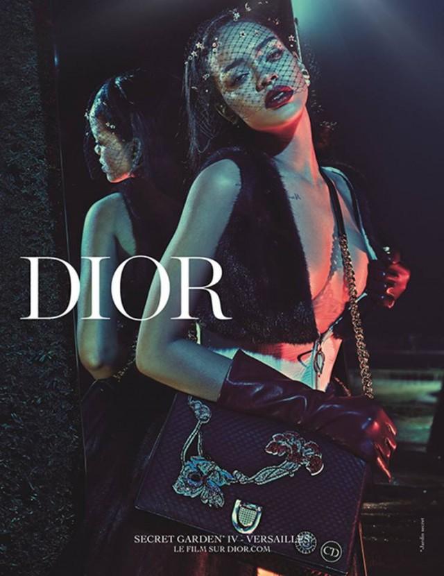 Dior Rihanna Secret Garden Ad Campaign 04