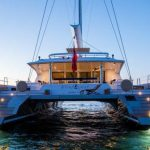 Luxury sailing catamaran windquest