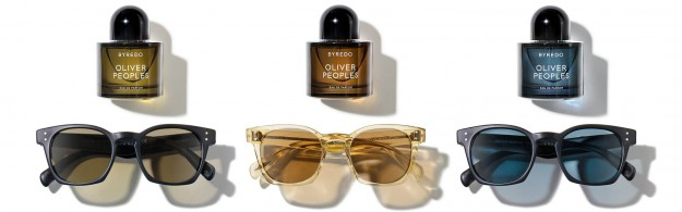 Oliver-Peoples and Byredo fragrance and sunglasses collection 01