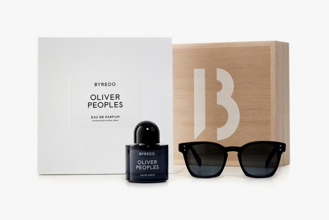 Oliver-Peoples and Byredo fragrance and sunglasses collection