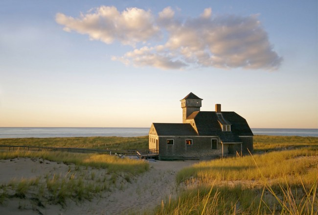 The Old Harbor Life-Saving Station in Provincetown
