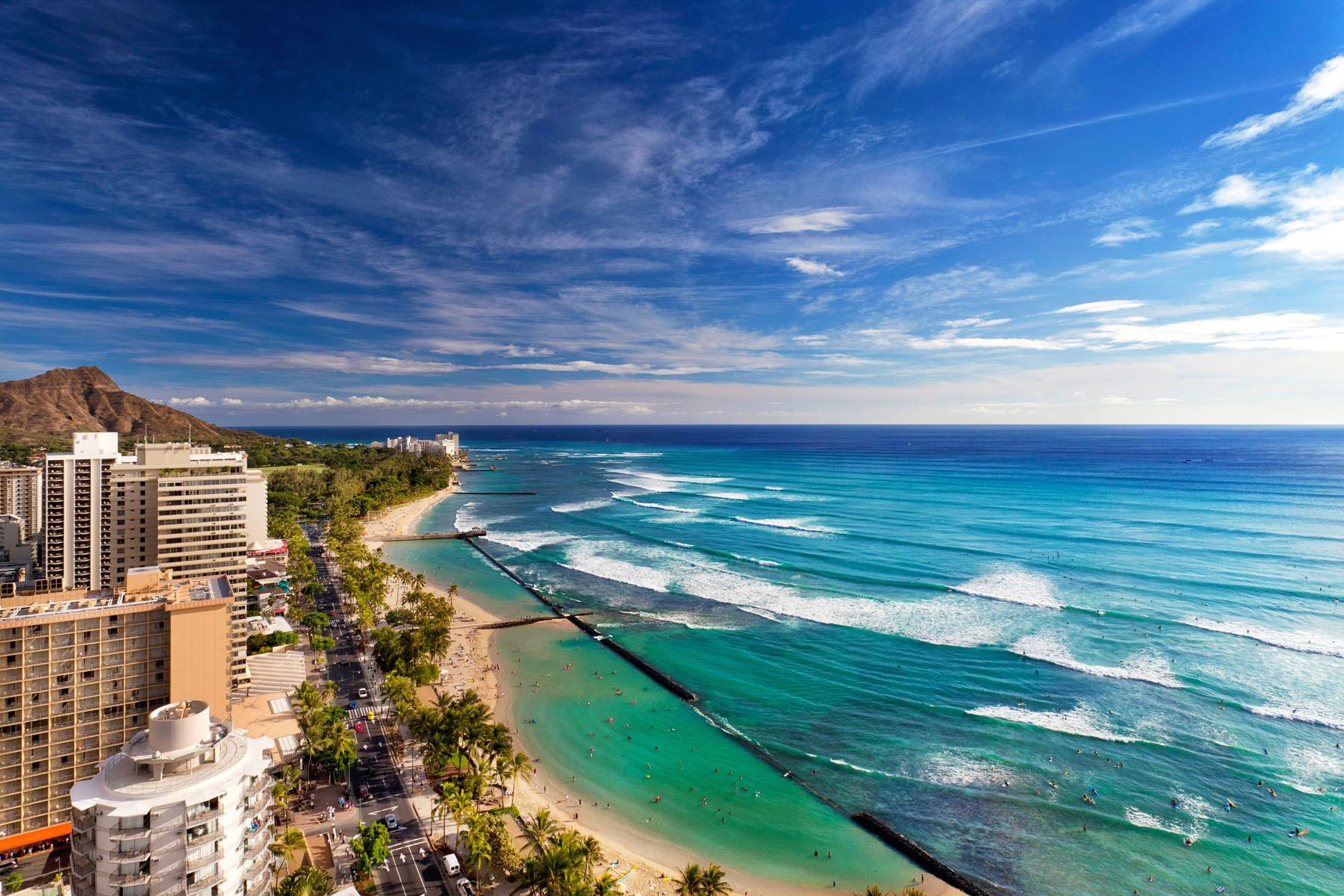Honolulu beach