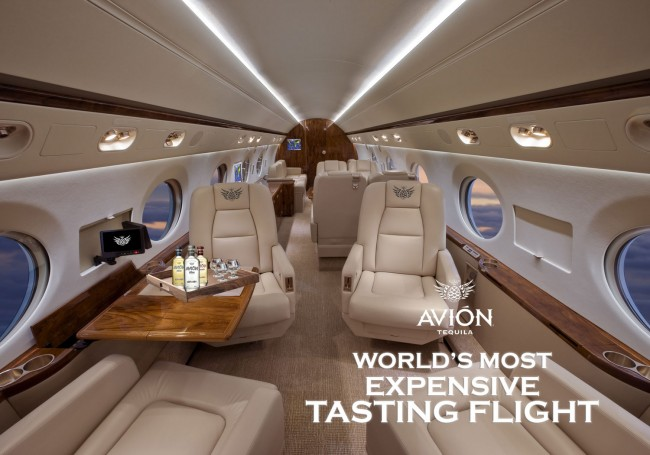World's Most Expensive Tasting Flight by Tequila Avion
