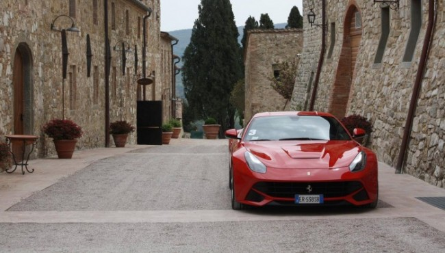 Ferrari Driving Experience Tuscany