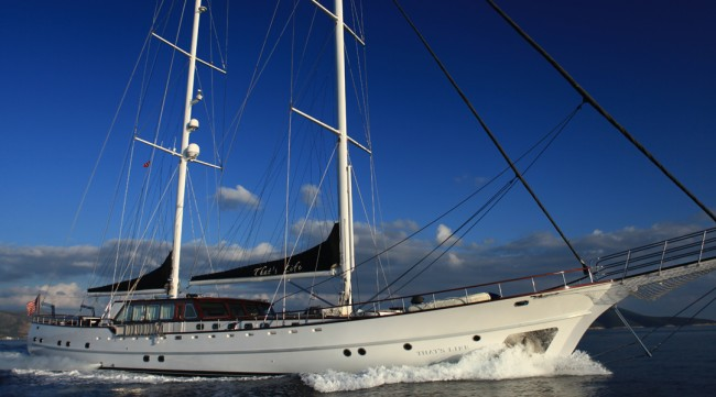 Luxury Gulet Yacht for charter That's Life pic 04