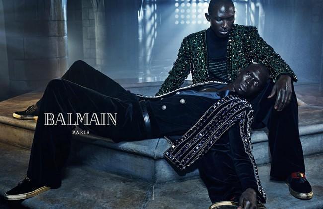 Balmain Fall_Winter 2015-2016 Ad Campaign 04