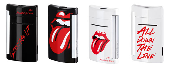 S.T. Dupont The Rolling Stones MiniJet lighters Limited Edtion