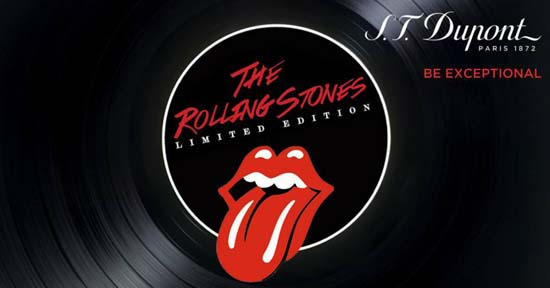 S.T.-Dupont The-Rolling Stones collection Limited Edition