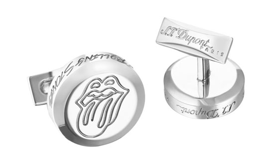 S.T. Dupont The Rolling Stones cufflinks Limited Edtion