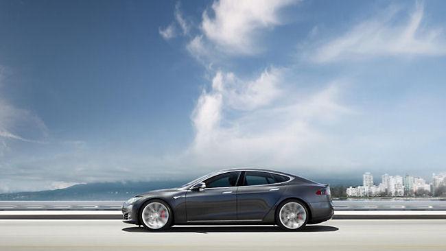 Drive a Tesla Model S in Washington DC