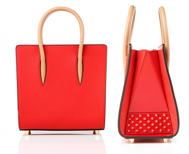 Christian Louboutin Custom Red Paloma Bag