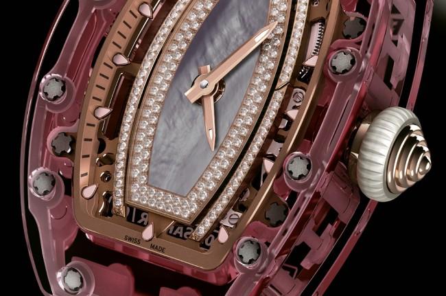 Richard Mille 1 Million Dollar Lady Pink Sapphire Watch pic 02