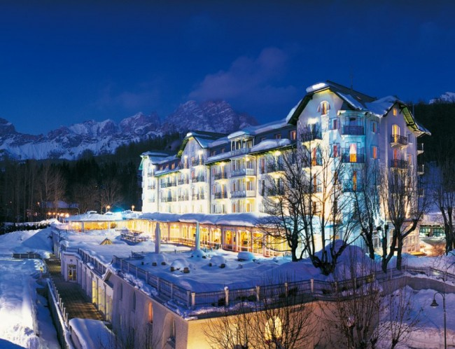 Cristallo Hotel Spa and Golf Dolomites italy 01