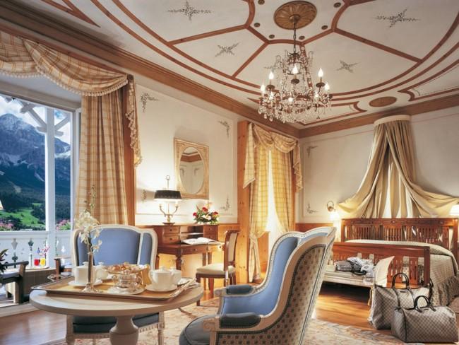 Cristallo Hotel Spa and Golf Dolomites italy 04