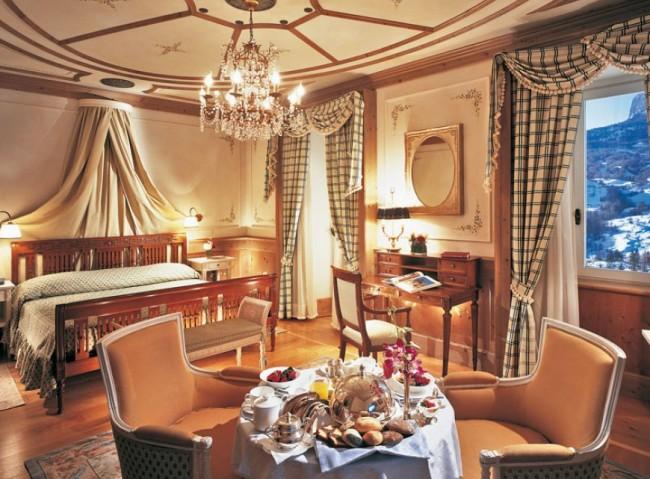 Cristallo Hotel Spa and Golf Dolomites italy 05