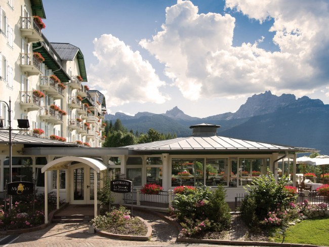 Cristallo Hotel Spa and Golf Dolomites italy 12
