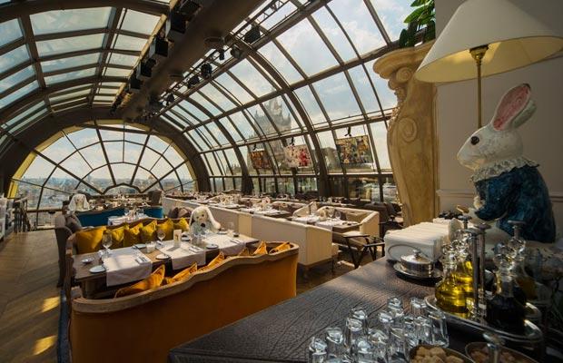 White Rabbit Restaurant Moscow