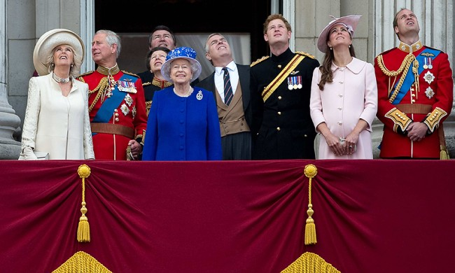 Queen Elizabeth and Royal Family
