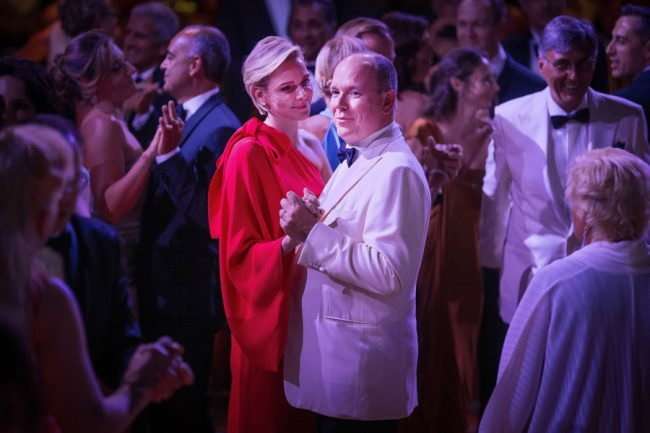 Monaco Red Cross Gala Princess Charlene