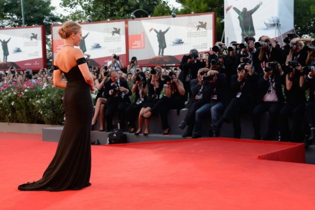 Venice Film Festival Celebrities on red carpet