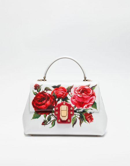 Medium size leather Lucia Bag 01