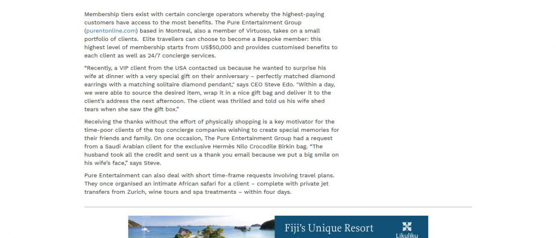 Luxury Travel Mag Australia